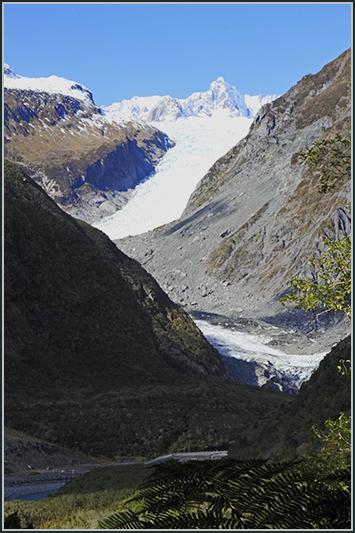 Fox Glacier veiw