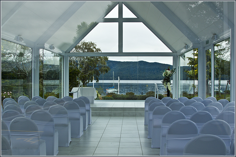 Glass Church. Te Anau