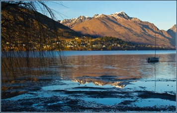 Lake Wakatipu in first light
