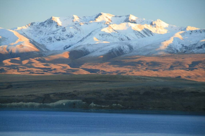 Southern Alps and Lake Tekapo