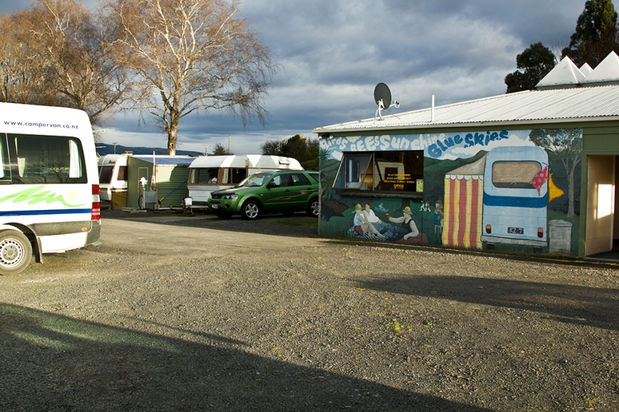 Mosgiel Camping and show grounds.