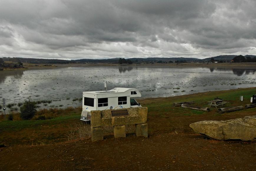Camping at Oatlands