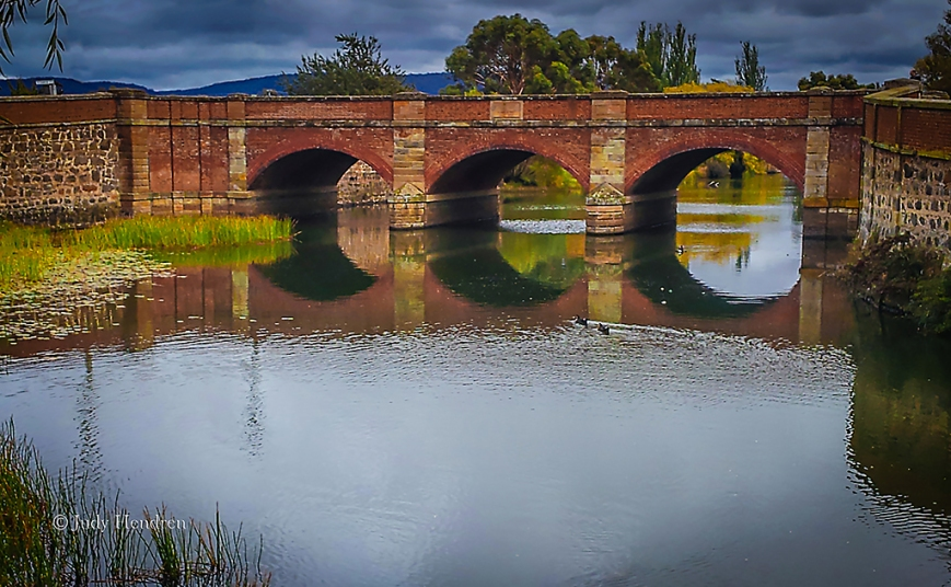 Red Bridge, Campbell Town 30 x 18 inches Print