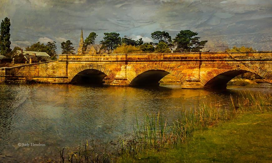Ross Bridge, Ross 30 x 17 inches Print